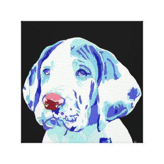 "12"" x 12""  Great Dane Puppy canvas Canvas Prints"