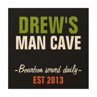 12 X 12 PERSONALIZED MAN CAVE SIGN