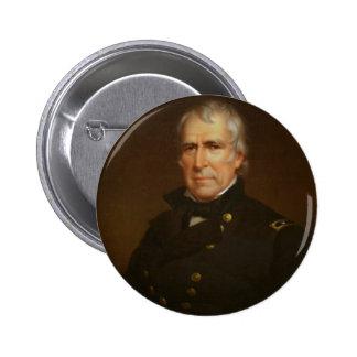 12 Zachary Taylor 6 Cm Round Badge