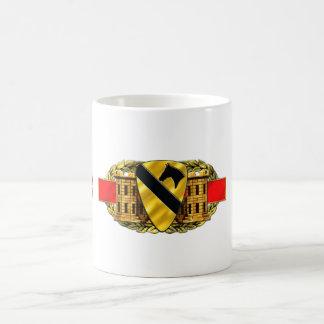 12B 1st Cavalry Division Classic White Coffee Mug