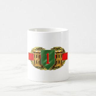 12B 1st Infantry Division Classic White Coffee Mug