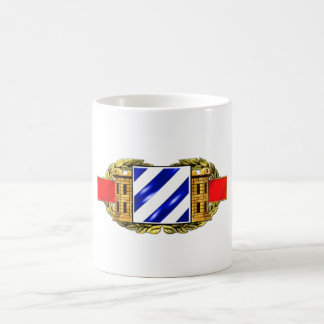 12B 3rd Infantry Division Classic White Coffee Mug