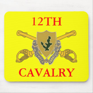 12TH CAVALRY MOUSEPAD