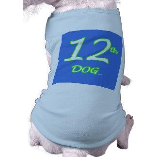 12th Dog Jersey Sleeveless Dog Shirt