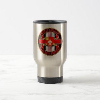 12th Field Artillery Regiment 15 Oz Stainless Steel Travel Mug
