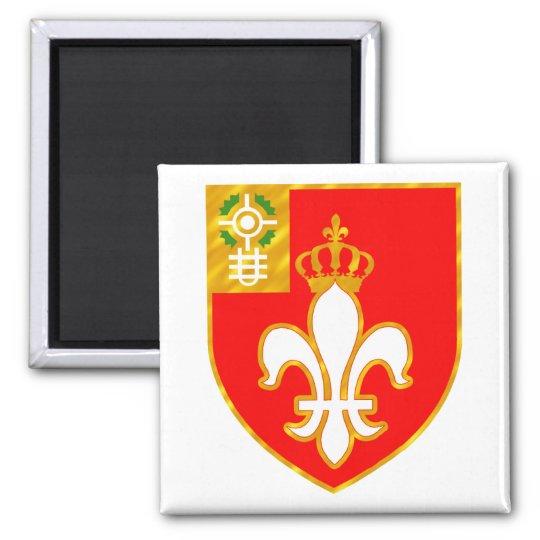 12th Field Artillery Regiment Square Magnet