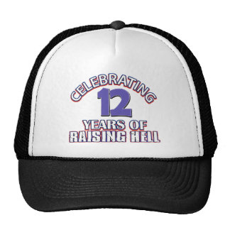 12th gift items trucker hats