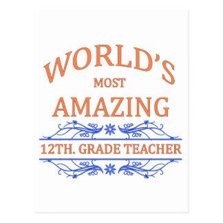 12th Grade Teacher Post Card