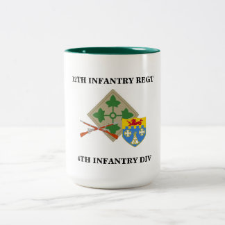 12th Infantry Regt 4th Infantry Div  Mug