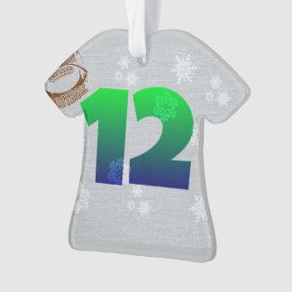 12th man ornament seahawks