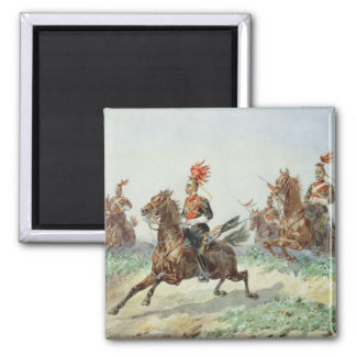 12th Royal Lancers (w/c over pencil heightened wit Square Magnet