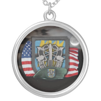 12th Special Forces flash veterans vets Necklace