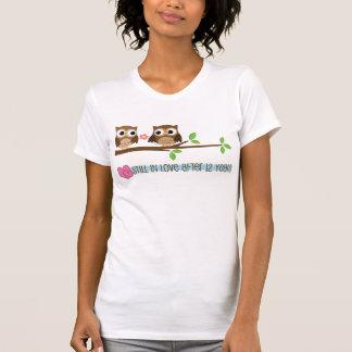 12th Wedding Anniversary Owls T-Shirt