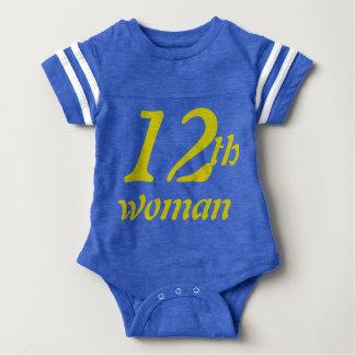 12th Woman Baby Baby Bodysuit