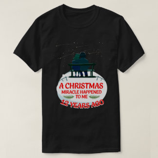 12th Xmas Anniversary Shirts For Couple