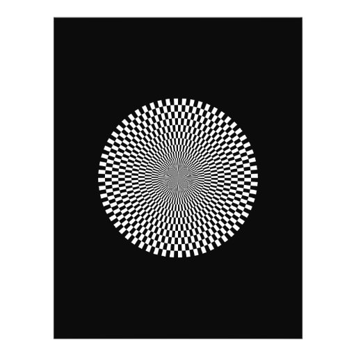 1309144895_Vector BLACK WHITE OPTICAL ILLUSIONS Flyer