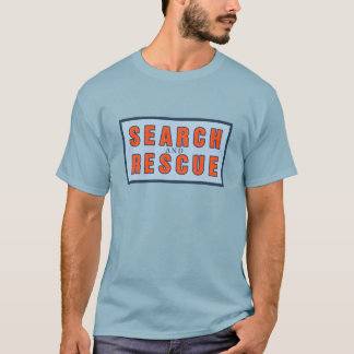 13119 SEARCH AND RESCUE OCEAN FOREST WORK VOLUNTEE T-Shirt