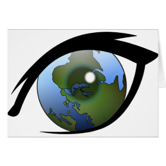 1312287950_Vector_Clipart earth eye icon logo Greeting Card