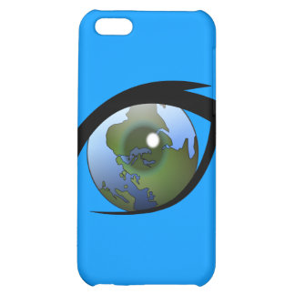 1312287950_Vector_Clipart earth eye icon logo iPhone 5C Cases