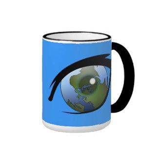1312287950_Vector_Clipart earth eye icon logo Coffee Mugs