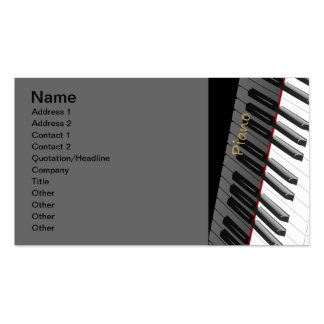 1312702225_Vector_Clipart black white Piano Pack Of Standard Business Cards