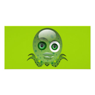 1314137299_Vector_Clipart monster octopus Personalized Photo Card