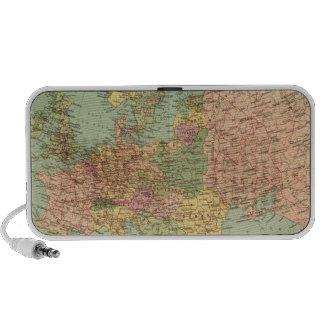 1314 Political Europe Laptop Speakers