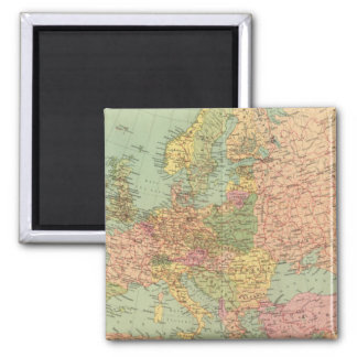 1314 Political Europe Square Magnet