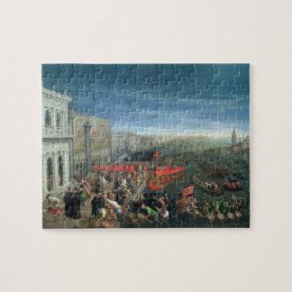 131-0057978/1 Riva degli Schiavoni, Venice Jigsaw Puzzle