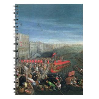 131-0057978/1 Riva degli Schiavoni, Venice Notebook