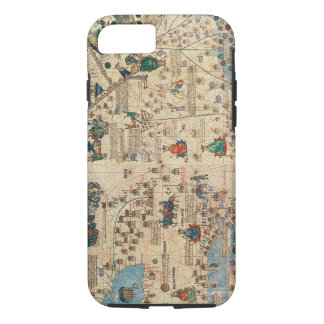 131-0058260/1 Catalan Atlas: Detail of Asia, by Ja iPhone 8/7 Case