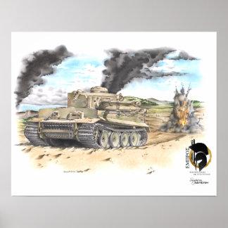 131 Tiger Poster