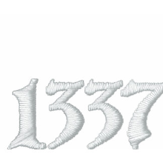 1337 EMBROIDERED POLO SHIRTS