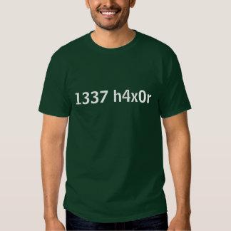 1337 h4x0r t shirts