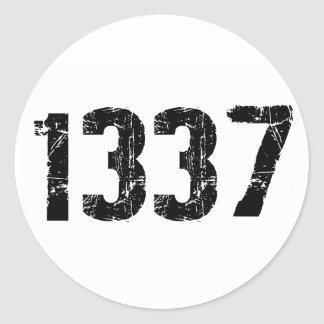 1337 Stickers