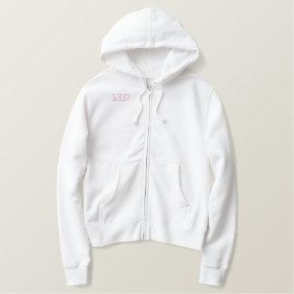 1337 White/Pink sweater