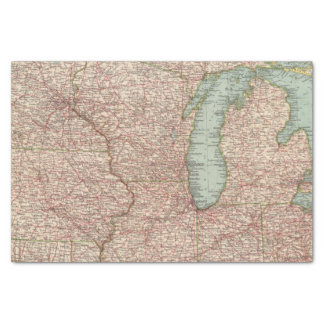13435 Mich, Wis, Minn, Ia, Mo, Ill, Ind, Ky Tissue Paper