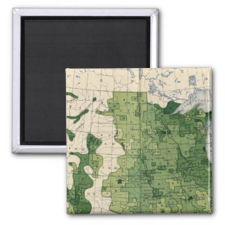 134 Value farm products 1900 Square Magnet