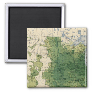 135 Value farm products 1900 Square Magnet