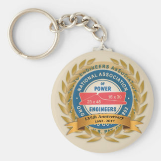 135th Anniversary Key Chain