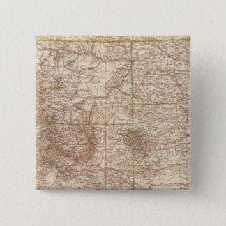 13637 Mont, ND, SD, Wyo, Neb 15 Cm Square Badge