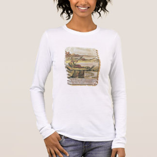 137-627922 Illustration from a history of Chile sh Long Sleeve T-Shirt