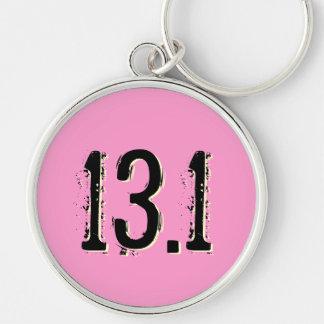 13.1 Half Marathon Premium Keychain