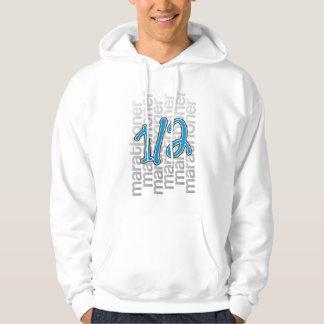 13.1 half marathoner hooded pullovers