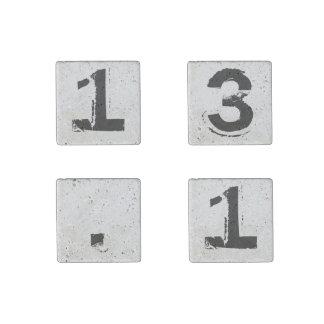 13.1 Magnet Set Half Marathon Runner Gift Stone Magnet