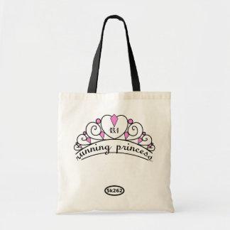 13.1 Running Princess (pink) Budget Tote Bag