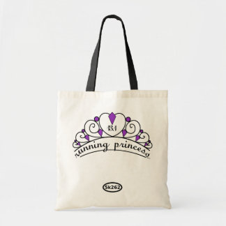 13.1 Running Princess (purple) Tote Bag