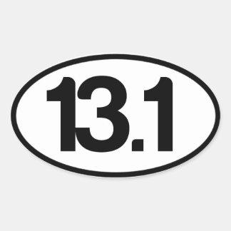 13.1 Sticker (Half Marathon Sticker)