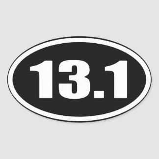 13.1 Sticker White Text on Black Background