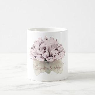 $13.95 The Wedding / Pink Roses Basic White Mug